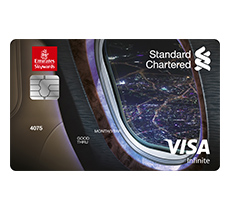Emirates Standard Chartered Infinite Credit Card