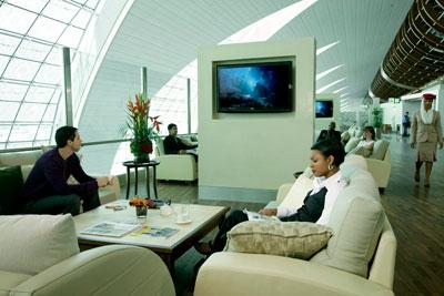 Lounge Dubai Airport Terminal 3 Terminal 3 at Dubai