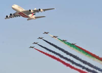 The Dubai Air Show 2013