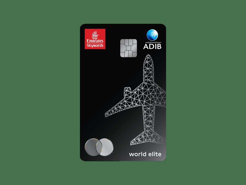 بطاقات سكاي واردز طيران الإمارات من مصرف أبوظبي الإسلامي طيران