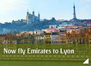 Now fly Emirates to Lyon