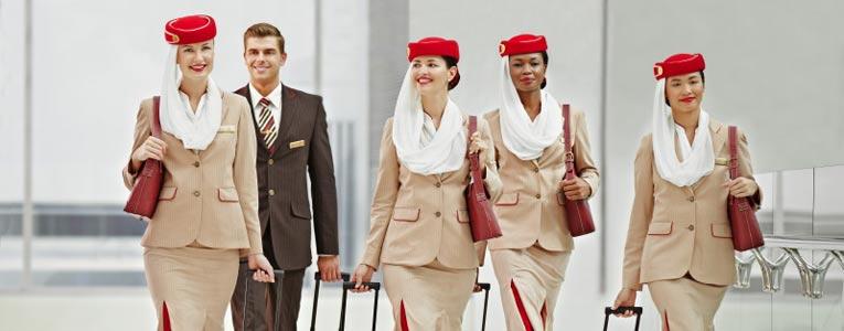 Na Emirates, você vem primeiro