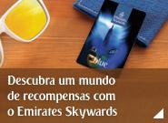 Torne-se um associado Emirates Skywards