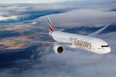 Emirates aumenta voos para Luanda, Angola