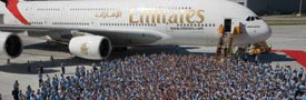 Emirates' Contribution to German GDP
