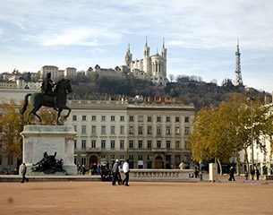 Flights to Lyon, France