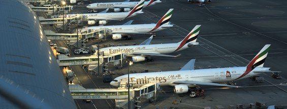 La flota Emirates