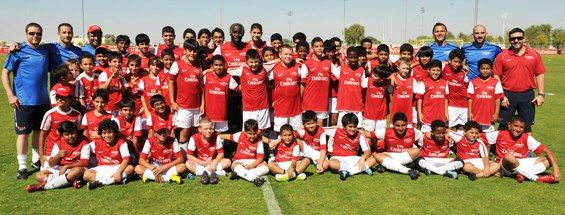 Arsenal Soccer School de Dubai