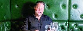 Lunch with Leo Green, Little Italy, London