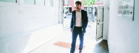 Lunch with William Skidelsky, St John, London
