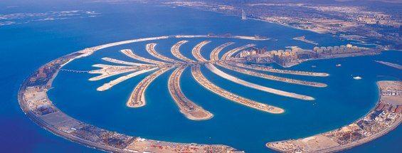 Mapa de Dubai