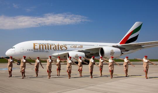 Resultado de imagem para a380 emirates gru