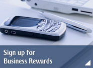 Sign up for Business Rewards