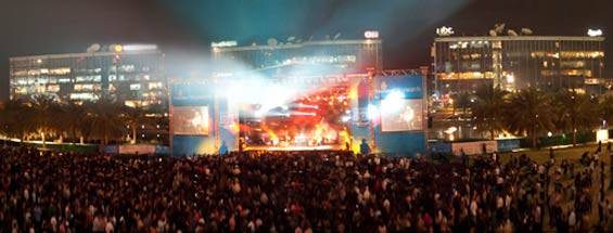 Skywards Dubai International Jazz Festival 2012