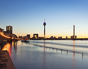 Vols vers Düsseldorf, Allemagne