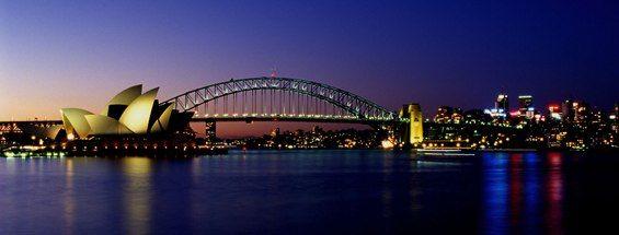 Vols vers Sydney