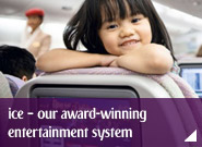 Enjoy ice – our award-winning entertainment system