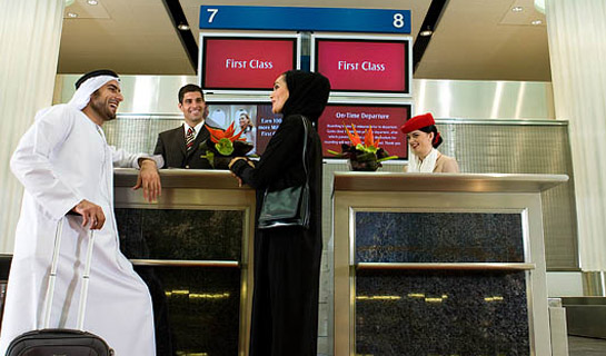 First Class Check-in