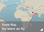 Route Map. See where we fly