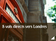 8 vols directs vers Londres