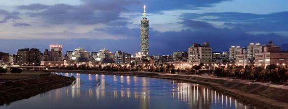 Vols à destination de Taipei