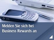 Melden Sie sich bei Business Rewards an