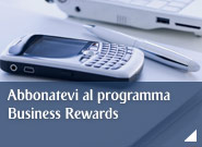 Abbonatevi al programma Business Rewards