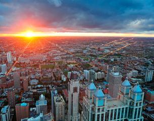 Vols à destination de Chicago aux États-Unis