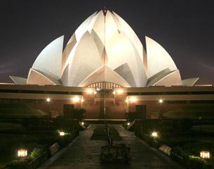 Vols vers Delhi, Inde