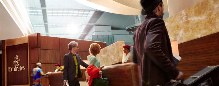 现在在登机前您便可尽享阿联酋航空 A380 的优质服务