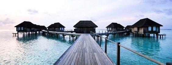 Lety na Maledivy