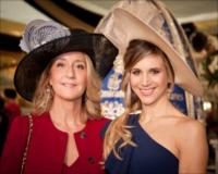 Princess Natasha Romanoff and her daughter Nicoletta Romanoff, who were special guests at the Emirates Marquee on Emirates Melbourne Cup Day.