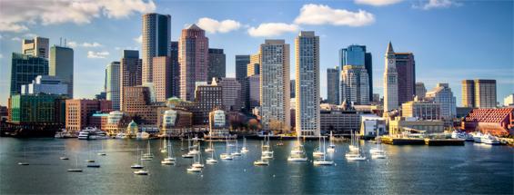 Vols à destination de Boston