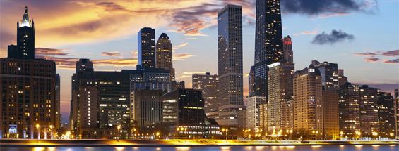 Vols à destination de Chicago