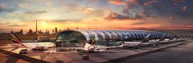 Centro de los A380 de Emirates