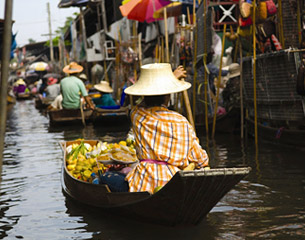 الرحلات إلى بانكوك