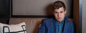 Lunch with Magnus Carlsen - Oslo's Dinner Bar and Restaurant