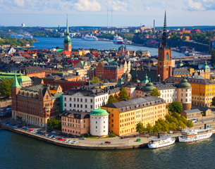 Flights to Stockholm, Sweden