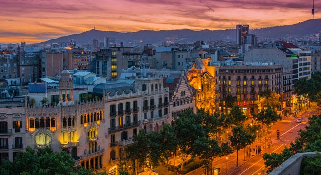 Book A Flight To Barcelona