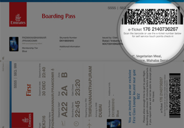 Where Can I Find My Ticket Number Managing Your Trip Faq