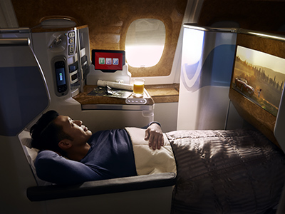 Our Flat Bed Seats Are On All Of A380 Aircraft