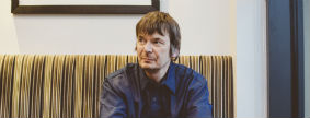 Lunch with Ian Rankin at Ondine, Edinburgh