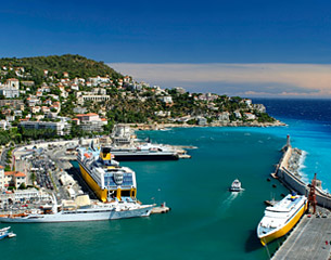 Flights to Nice, France