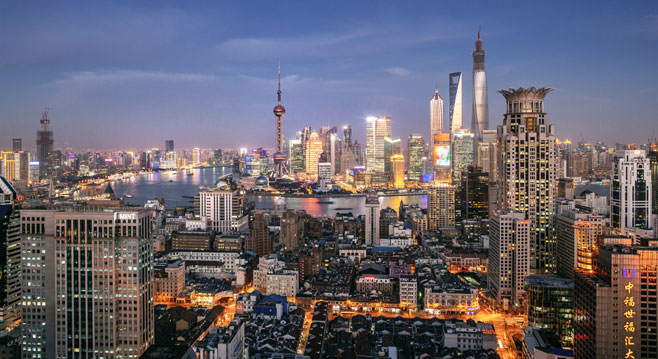 4 Most Popular Cities In China
