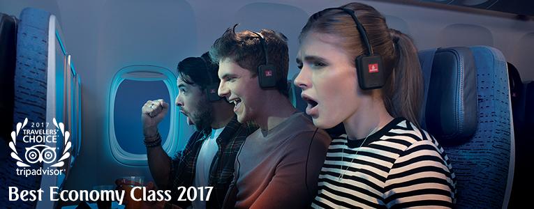 Gracias por ayudarnos a ser la compañía aérea más galardonada en los premios TripAdvisor Travelers' Choice™ de 2017