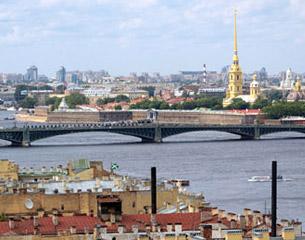 Vuelos a San Petersburgo, Rusia