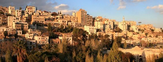 Vols à destination d'Amman