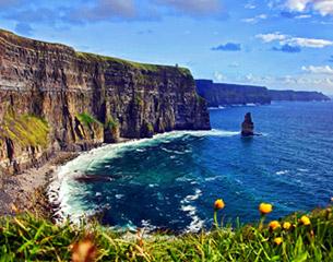 Vols vers Dublin, Irlande