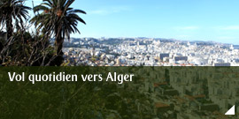 Vol quotidien vers Alger
