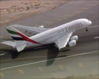 Building of Emirates A380